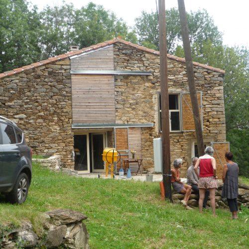 Le2bis-Agence d'architecture toulouse-Rénovation et transformation grange Ariège 3