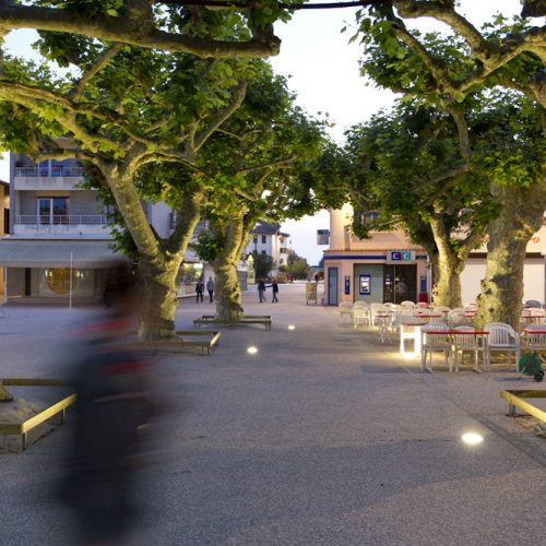 Le2bis-Agence d'architecture toulouse-Vieux-Boucau-Les-Bains -Aménagement des espaces publics du centre bourg - 2013