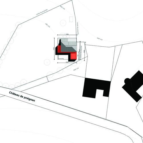 Le2bis-Agence d'architecture toulouse-Extension contemporaine Villa K