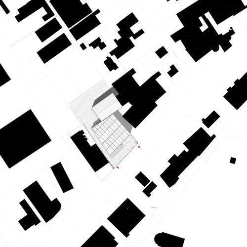 Le2bis-Agence d'architecture toulouse-Tertiaire Concession SUD VO-Plan de toiture