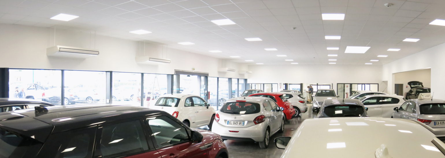 Le2bis-Tertiaire Concession SUD VO-Vue showroom