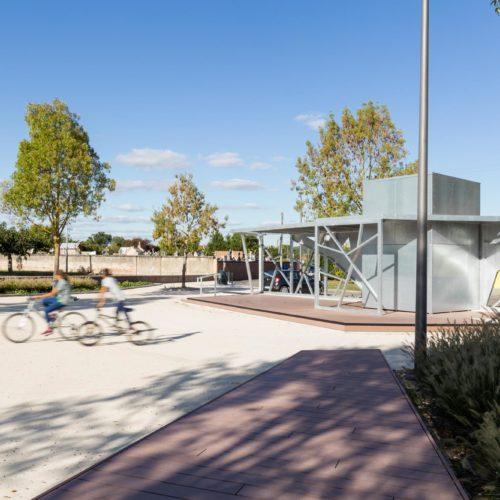 Le2bis-Agence d'architecture toulouse-Aménagements Place Falguières - Espace public - Pergola urbaine - 8