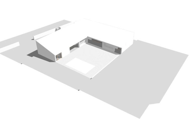 Maison Architecte  Plan en L