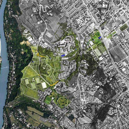 Le2bis-Agence d'architecture toulouse-Téléphérique en site urbain-Toulouse-Plan de référence